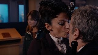 Missy Kisses The Doctor - Dark Water - Doctor Who - BBC