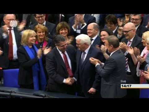Frank-Walter Steinmeier becomes Germany's new president