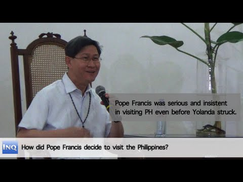 Tagle talks about Pope's visit on Inquirer Conversations