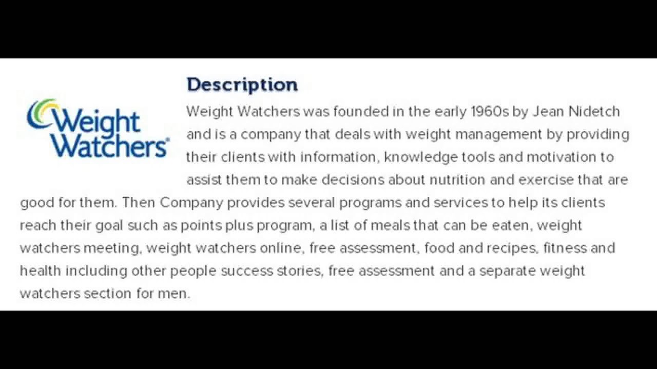 Weight Watchers Corporate Office Contact Information Youtube
