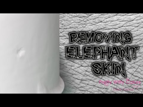 How to Repair Elephant Skin on a Cake - Pretty Witty Cakes