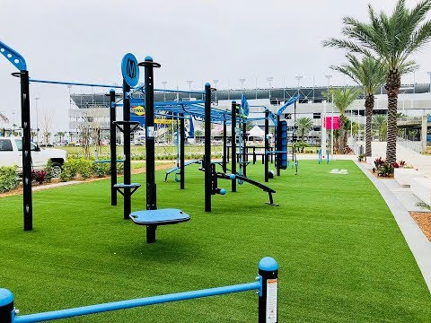 MoveStrong FitGround Outdoor Functional Fitness Park Daytona
