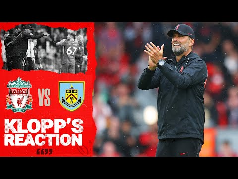 Klopp reaction: 'It was the best atmosphere of 12.30 we have ever had' |  Liverpool vs Burnley