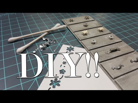 Miniature Furniture Tutorials: 7 DIY Handles for Drawers or Cabinets