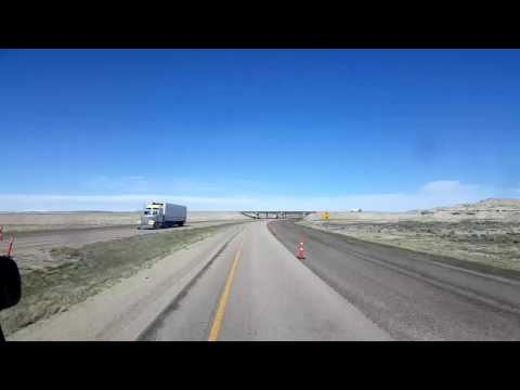 BigRigTravels LIVE! - Granger to Wamsutter, Wyoming - May 12, 2016 4:30 PM