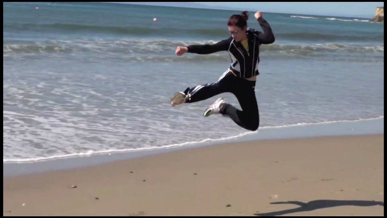 Karate Kid - Jump 5.0 - Flying Jump Kick - YouTube