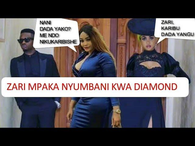 MOTO UMEWAKA! Zari Kutinga Nyumbani Kwa Diamond Na Tanasha