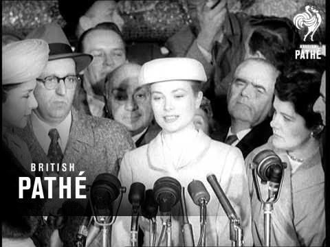 Grace Kelly Sails For Monaco (1956)