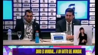 DURO ES MUNDIAL - CHILENOS INGLESES PERIODISMO VS ARGENTINA -  11-06-14