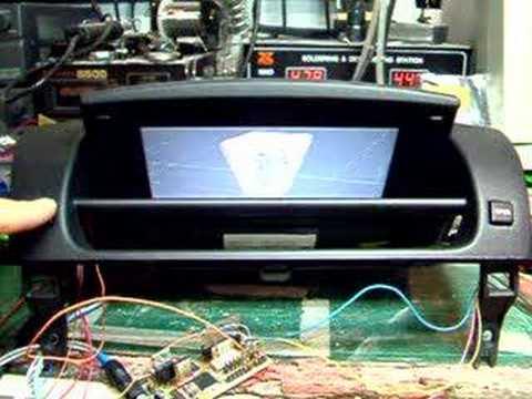 rx8 navigation screen size