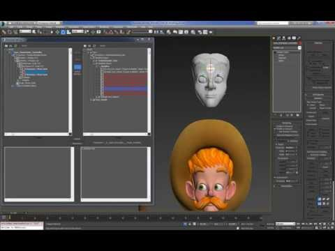 Cartoon Character For Production 3DMax (Setup) : 02 (41)