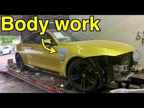 Rebuilding My Wrecked BMW M4 Part 2