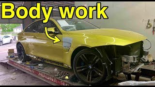Rebuilding My Wrecked BMW M4 Part 2