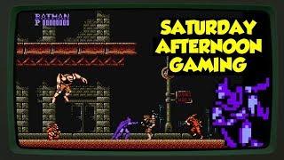 Batman: The Video Game (NES) - The One Where Batman has a Gun - Saturday Afternoon Gaming