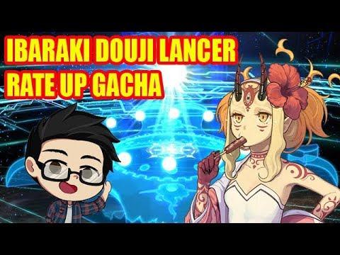 [Fate/Grand Order JP] Swimsuit Ibaraki Douji Rate Up Gacha