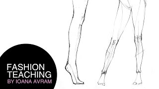 How to draw legs step by step Thumbnail