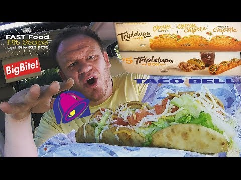 Taco Bell ☆TRIPLELUPA $5 BOX | Triple Chalupa 2020☆ Food Review!!!