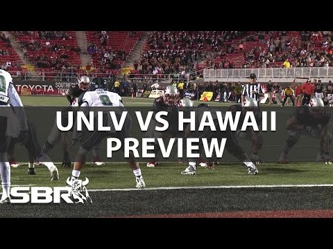 UNLV Rebels vs Hawaii Rainbow Warriors Pick College Football Week 7