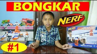 Bongkar Nerf Yuk !!! Nerf Gun Mods Partie 1 permainan anak indo nerf fortnite twin toys