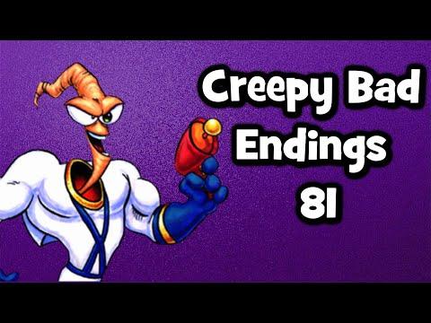 Creepy Bad Endings etc. 81 - Earthworm Jim: Special Edition |