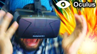 Die In The Oculus Rift, Die In Real Life! | Oculus Rift DK2 Horror Game