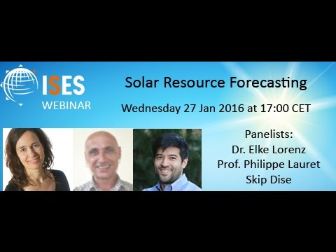 Webinar: Solar Resource Forecasting