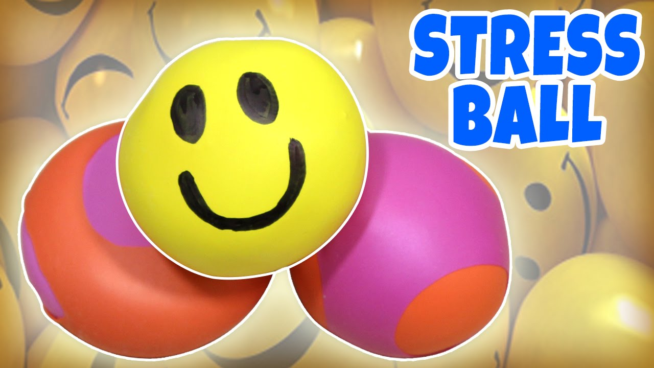 learn how to make stress balls