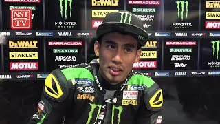Hafizh finishes 14th and earns two points in Qatar