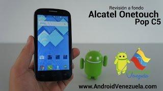 Reseña del Alcatel Onetouch Pop C5 (Español)