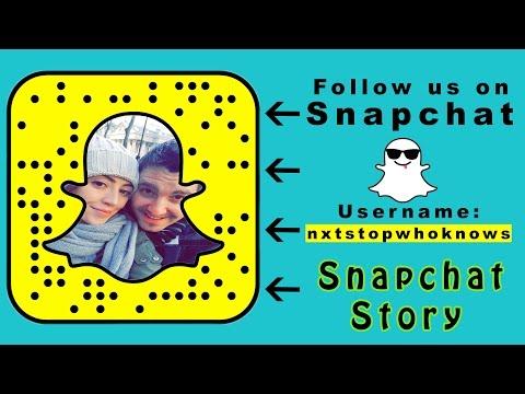 Snapchat Story: Skopje(Macedonia) to Nis(Serbia)