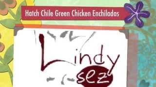 Hatch Chile Green Chicken Enchiladas