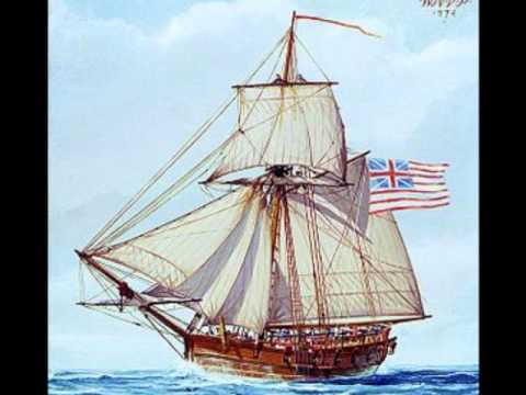 American Revolutionary War Song:Yankee Privateer