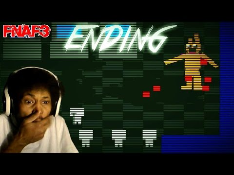 I HATE YOU SPRINGBOOB   Five Nights At Freddy's 3 ENDING - Night 5 Complete