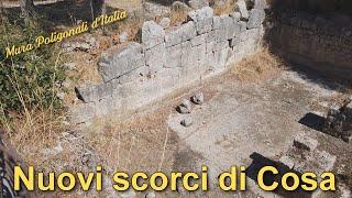 Nuovi scorci di Cosa - Mura poligonali d'Italia