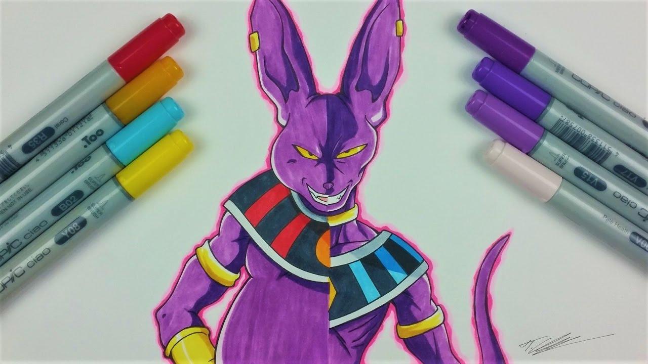 Drawing Lord BEERUS CHAMPA Dragonball Super TolgArt