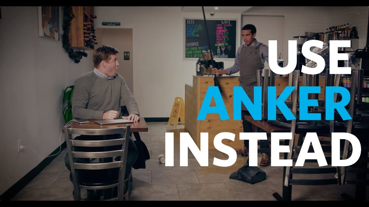 Anker   #UseAnkerInstead