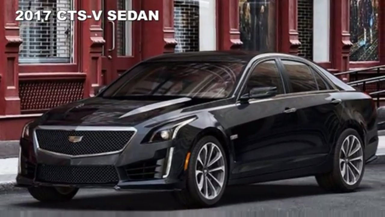 2017 Cadillac Cts V Sedan With Carbon Black Sport Package Youtube