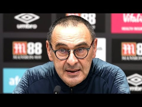 Bournemouth 4-0 Chelsea - Maurizio Sarri Full Post Match Press Conference - Premier League