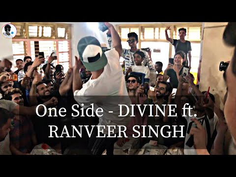 One Side - DIVINE ft. RANVEER SINGH || CHILLING WITHRAPPERS AFTER GULLY BOY MOVIE WRAPUP ||