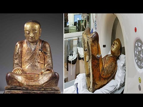 Monk inside Buddha: CT Scan of 1000 y.o Buddha Statue reveals Mummified Monk Hidden Inside