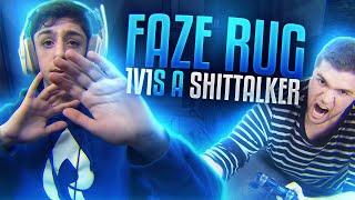 FaZe Rug 1v1s A SHIT TALKER!!