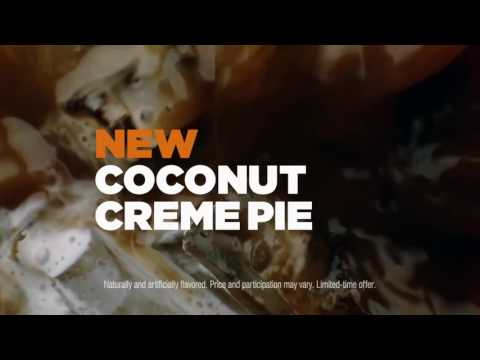Jayme Vanegas- Dunkin Donuts Commercial ( butter pecan and coconut creme pie ice coffee)