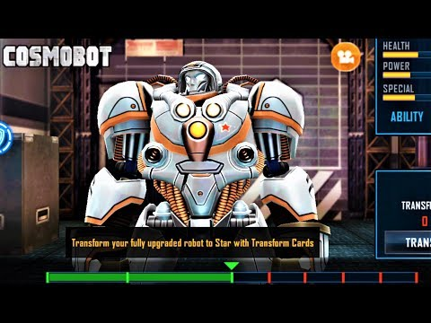 COSMOBOT UNLOCKED Real Steel World Robot Android Gameplay HD