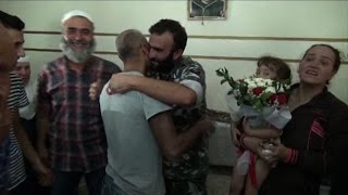 Syria jihadists free 4 Lebanese soldiers