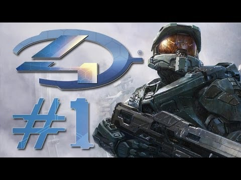 Halo 4 Gameplay #1 - Let's Play Halo 4 - German