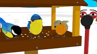 Funny Tools For Kids (ep.5) - Building A Bird House  - Aapv