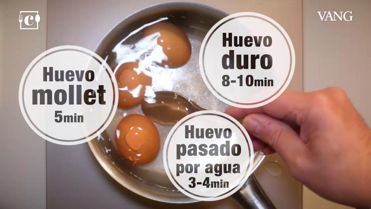 que tiempo para huevos duros
