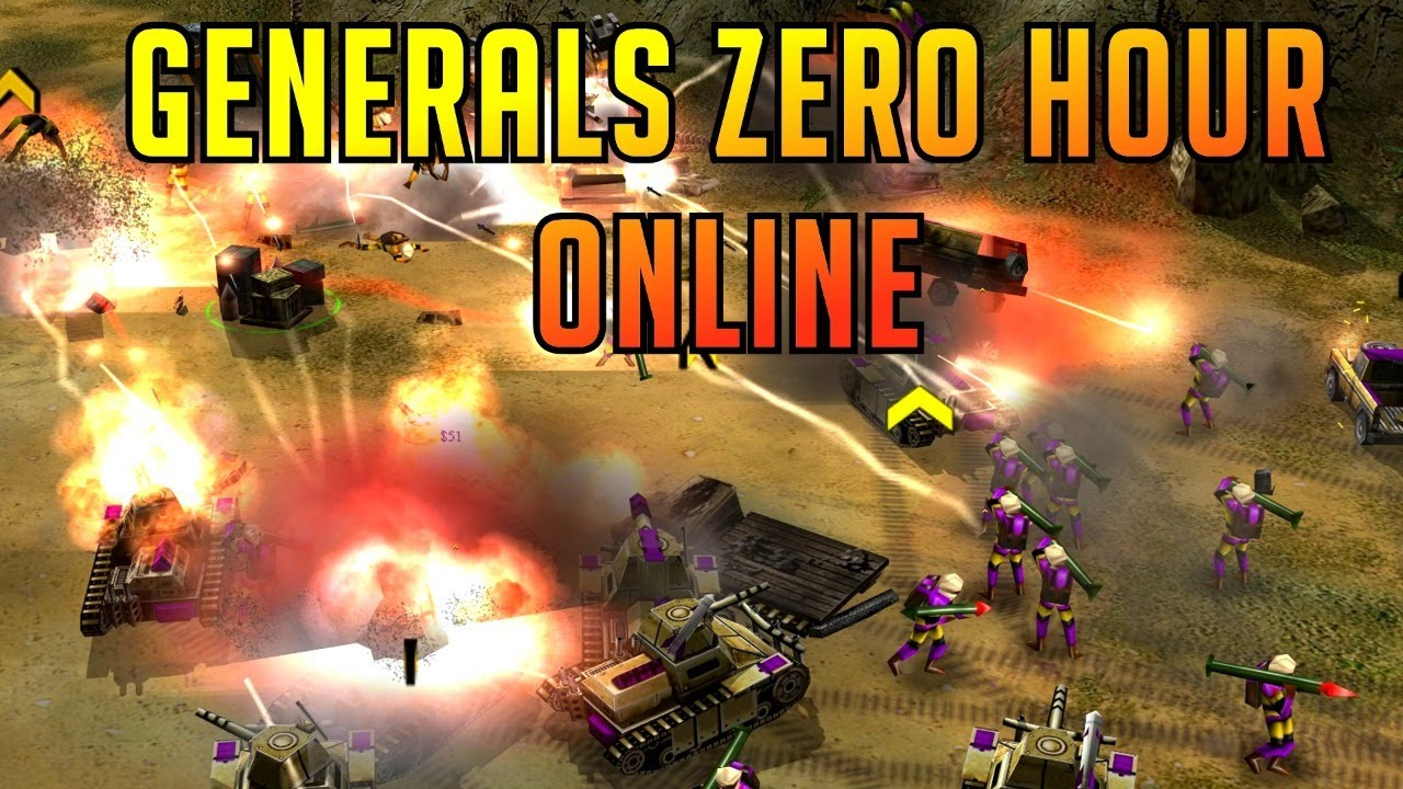 Live 2v2 Tournament with Boycah & More - Generals Zero Hour Online Multiplayer