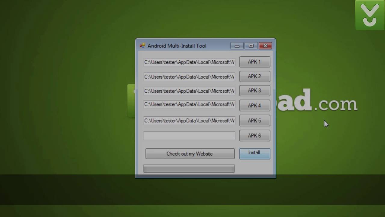 Android Multi-Install Tool - Install APK files in batch - Download Video  Previews