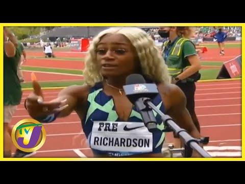 Sha'carri Richardson | TVJ Sports Commentary - August 23 2021